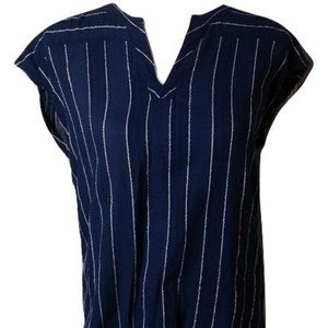 Tommy Hilfiger Blue & White Striped Shirt